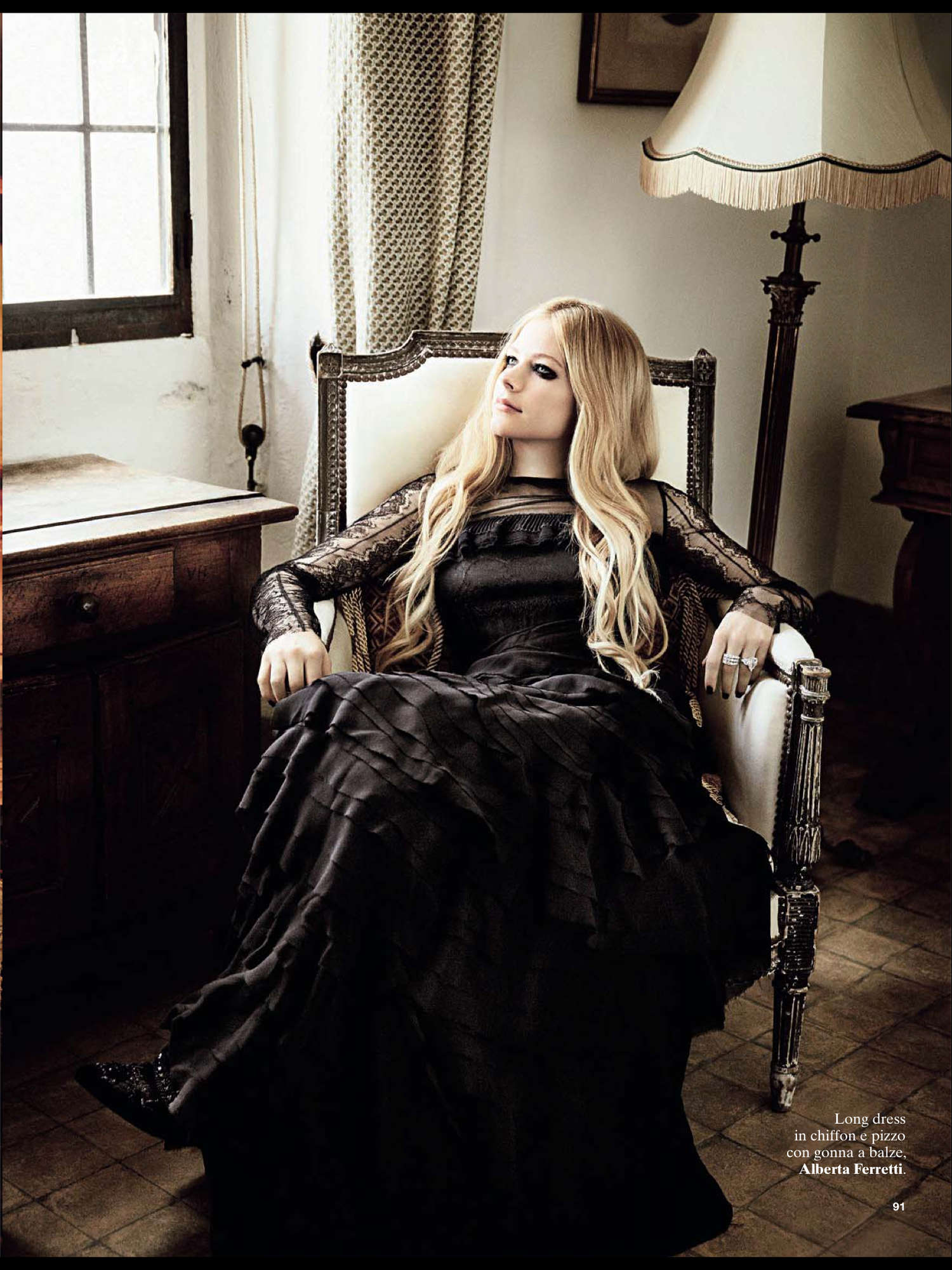 Avril Lavigne Glamour 2013 03 Gotceleb