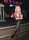 Avril Lavigne - NYLON Magazine Cover Celebration in NYC -02