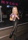 Avril Lavigne - NYLON Magazine Cover Celebration in NYC -04