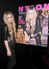 Avril Lavigne - NYLON Magazine Cover Celebration in NYC -07