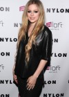 Avril Lavigne - NYLON Magazine Cover Celebration in NYC -08