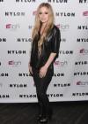 Avril Lavigne - NYLON Magazine Cover Celebration in NYC -09