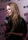 Avril Lavigne - NYLON Magazine Cover Celebration in NYC -11