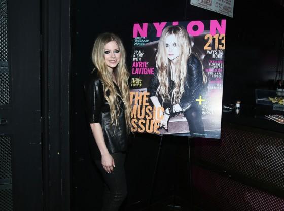 Avril Lavigne – NYLON Magazine Cover Celebration in NYC -13