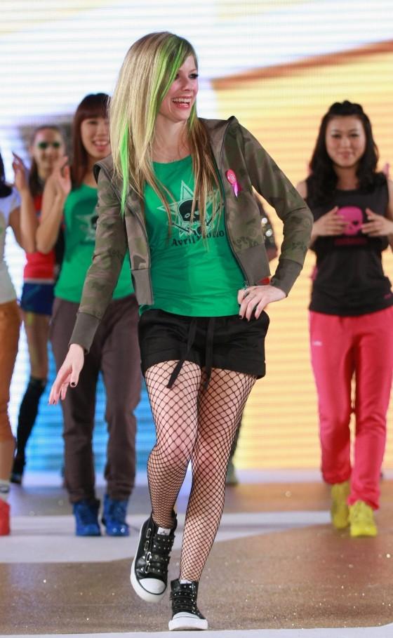 Avril Lavigne Shorts