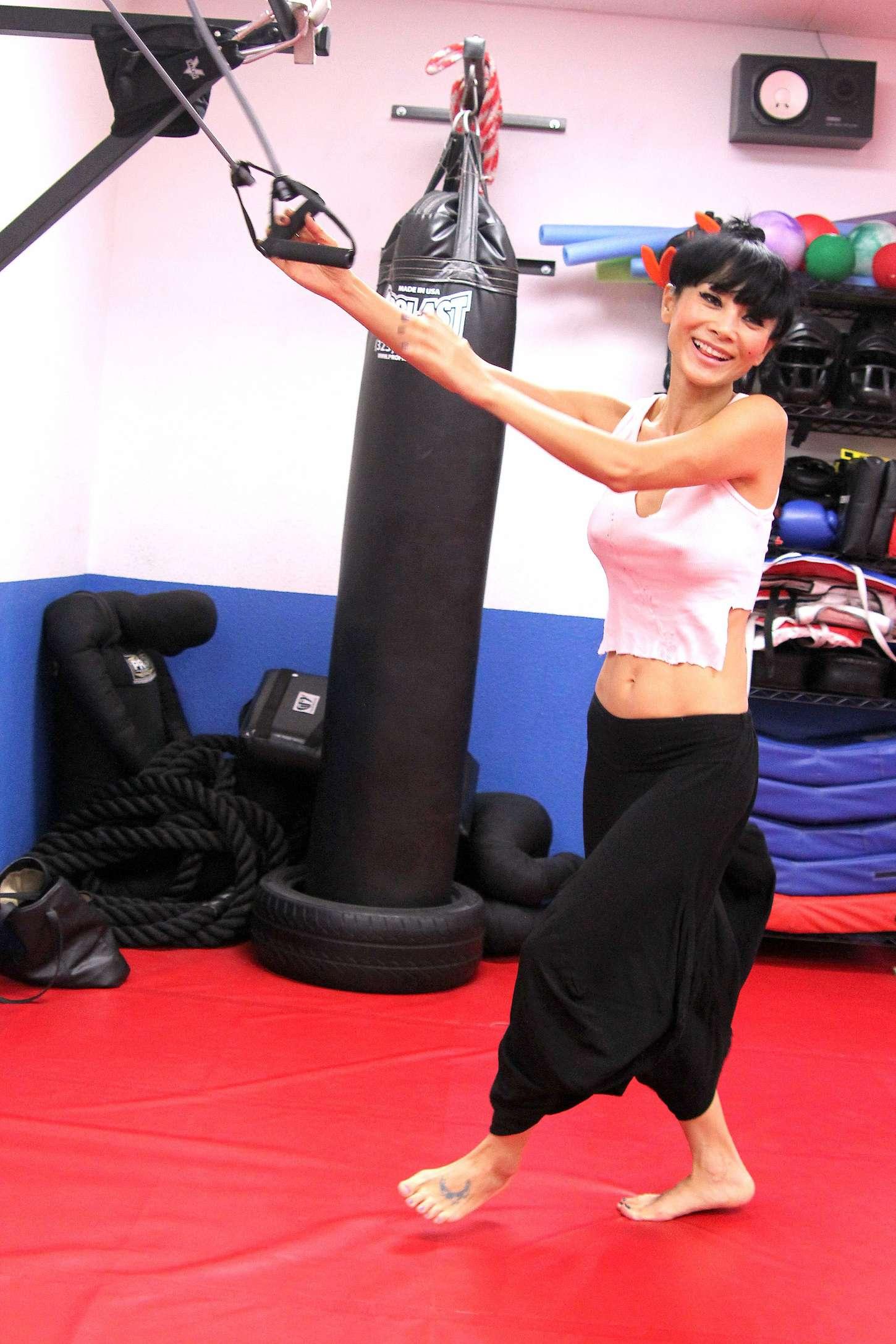 Bai Ling Martial Arts Training 25 Gotceleb