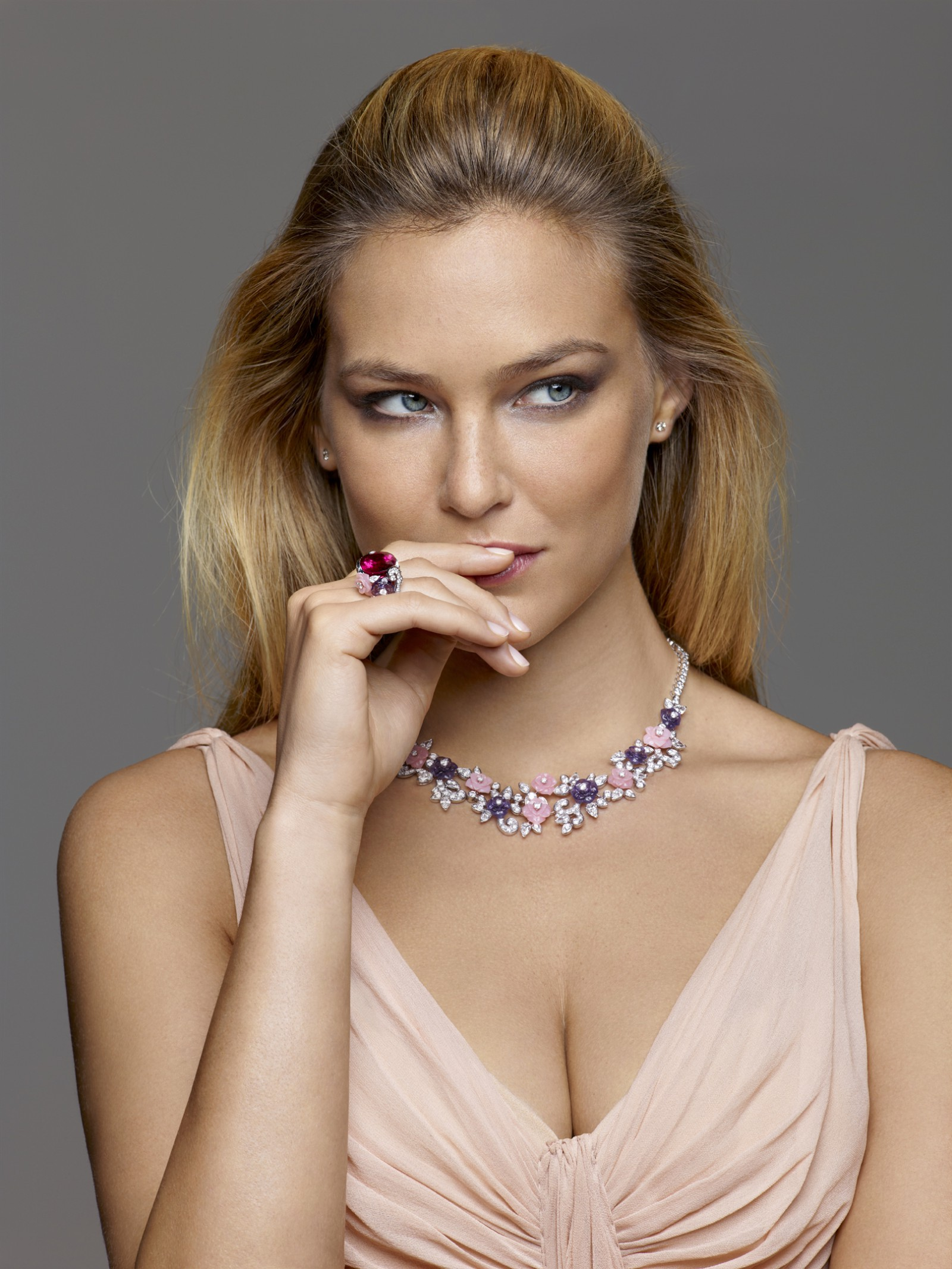 Bar Refaeli - 2013 Piagets Rose Collection -03