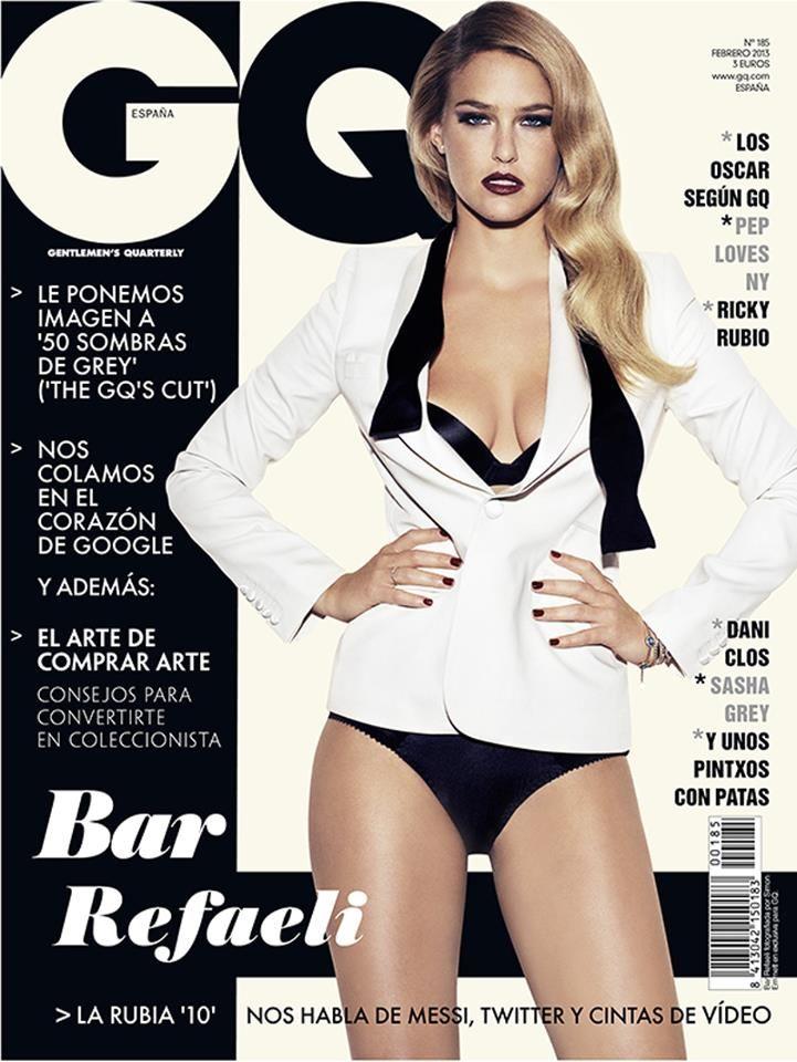 Bar Refaeli 2013 : Bar Refaeli Hot at Cover For GQ Spain – February 2013 issue -01