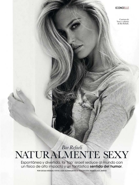 Bar Refaeli – Elle Spain -08