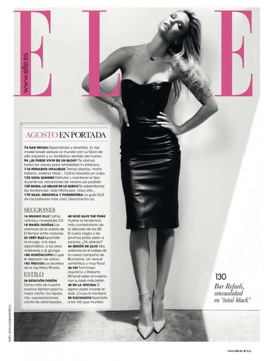 Bar Refaeli – Elle Spain -11