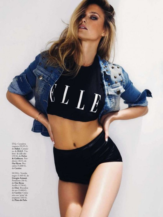 Bar Refaeli – Elle Spain -12