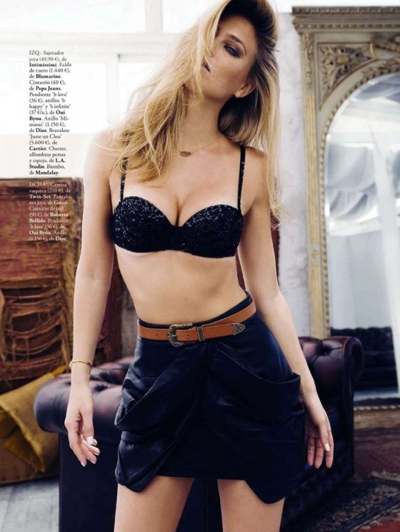 Bar Refaeli – Elle Spain -14