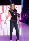 Bar Refaeli - Skinny Jeans Sexy on The Ramp During Gindi Fashion Week Tel Aviv