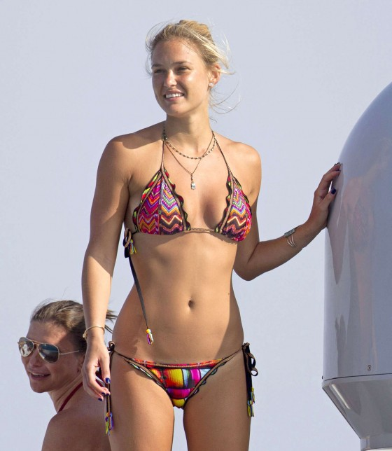Bar Refaeli in Bikini in Spain -26