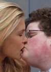 Bar Refaeli Kisses Smart Guy - Go Daddy Super Bowl ad 2013