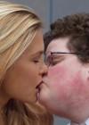 Bar Refaeli Kisses Smart Guy - Go Daddy Super Bowl ad 2013