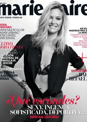 Bar Refaeli for Marie Claire (Spain January 2015)