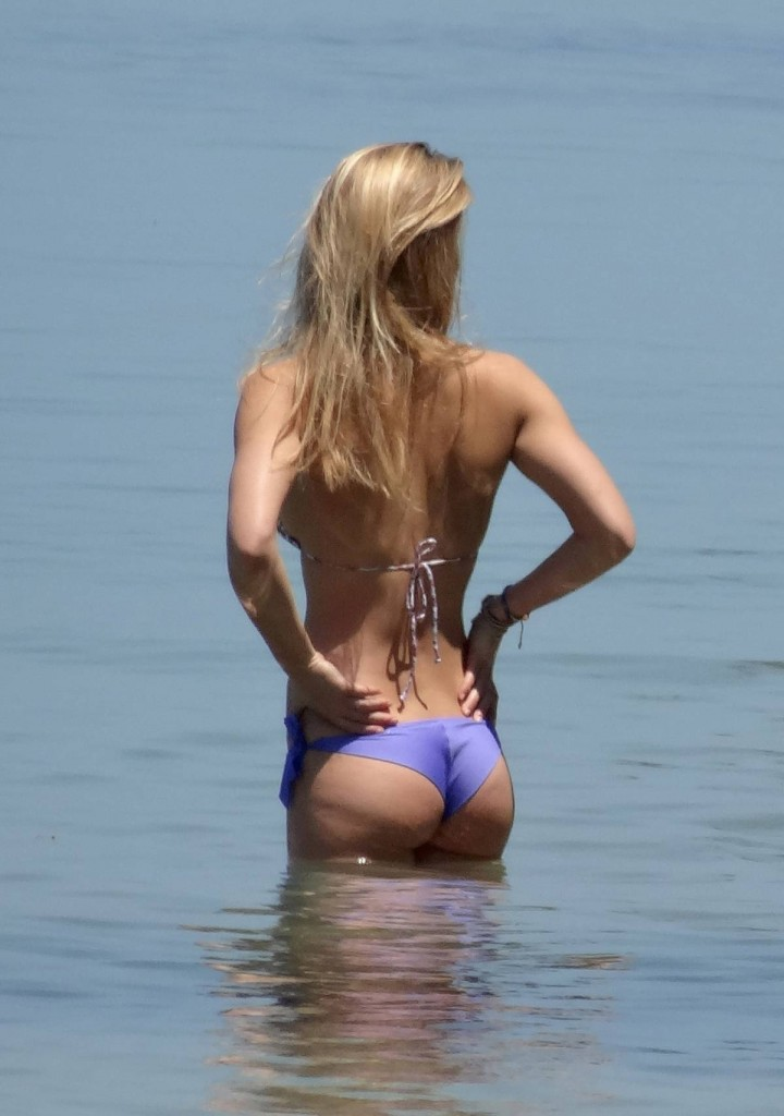 Bar Refaeli – Purple Bikini Candids in Koh Samui