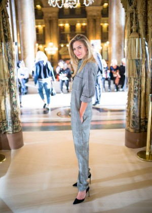 Bar Refaeli - Stella McCartney Fashion Show Spring-Summer 2015 in Paris