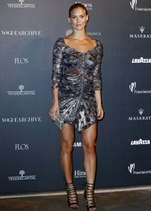 Bar Refaeli - Vogue Italia 50th Anniversary at Piazza Castello in Italy