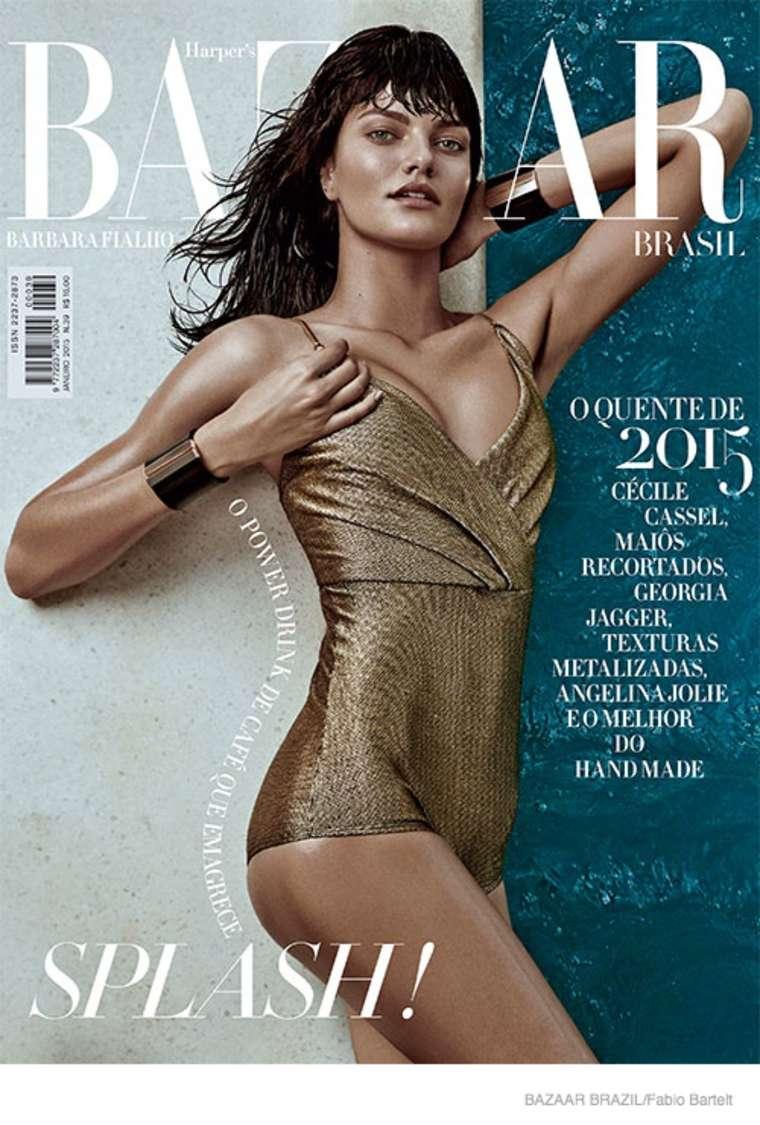 Barbara Fialho - Harper's Bazaar Brazil Magazine (January 2015)