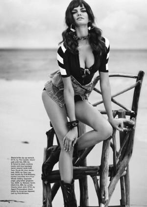Barbara Fialho - Marie Claire Australia Magazine (January 2015)
