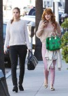 Barbara Palvin and Bella Thorne - Candids in Beverly Hills