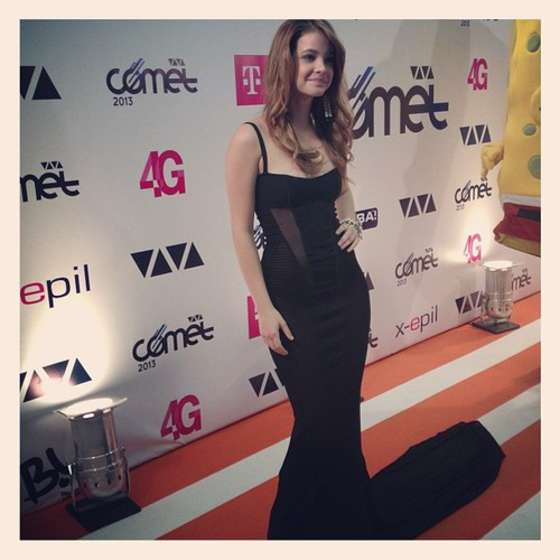 Barbara Palvin at The Viva Comet Awards 2013 -02