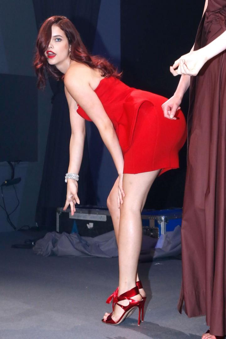 Barbara Palvin – Fashion Show for amfAR Gala 2014
