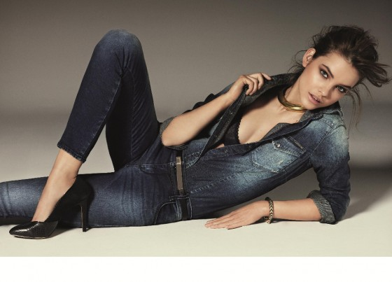 Barbara Palvin – Gas Jeans 2013 Collection -04