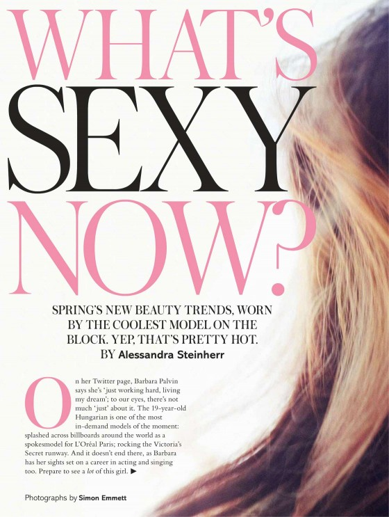 Barbara Palvin – Glamour UK (March 2013)-02