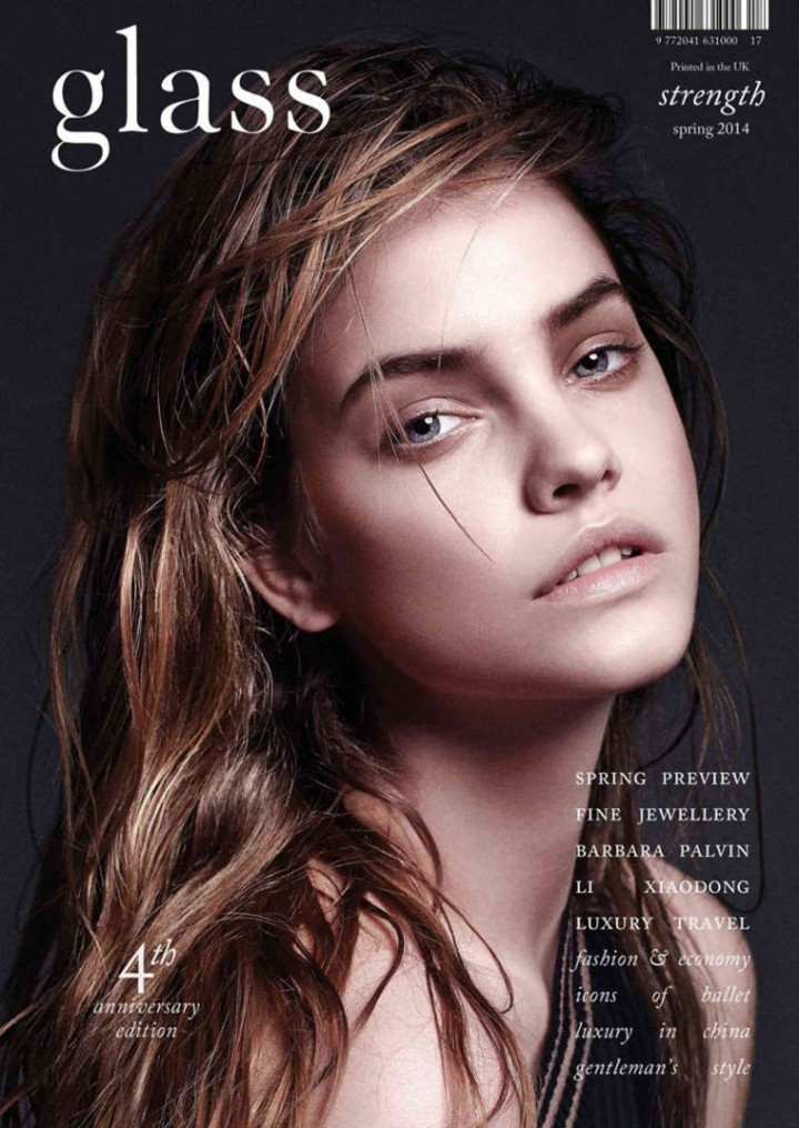 Barbara Palvin: Glass Magazine Cover -01