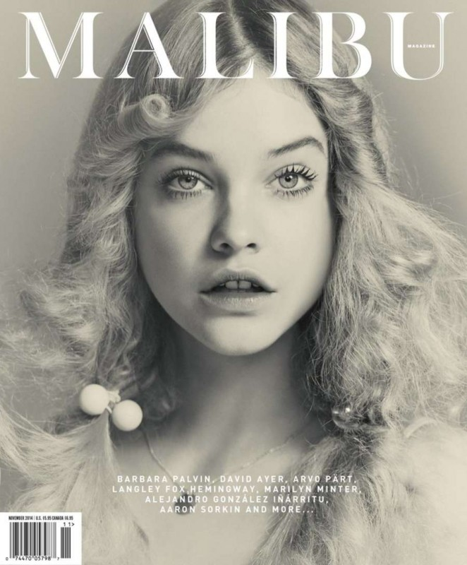 Barbara Palvin - Malibu Magazine Cover (November 2014)