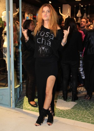 Barbara Palvin - Opening the new Rosa Cha boutique in Sao Paulo-04
