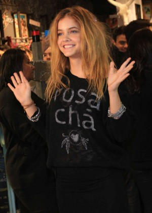 Barbara Palvin - Opening the new Rosa Cha boutique in Sao Paulo-06