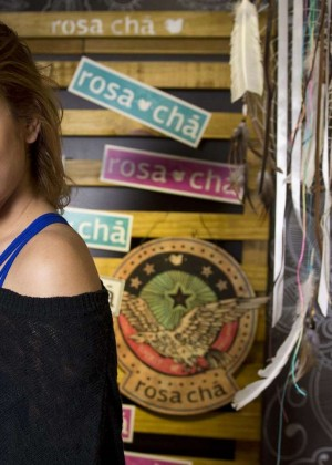 Barbara Palvin - Opening the new Rosa Cha boutique in Sao Paulo-07