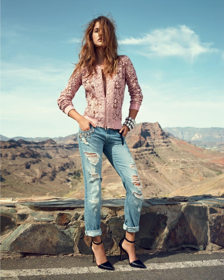 Barbara Palvin: Twin-Set Jeans 2014  -06