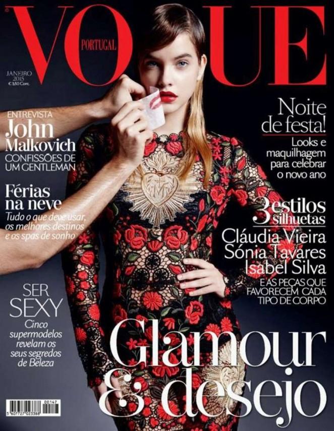 Barbara Palvin - Vogue Portugal Magazine Cover (January 2015)