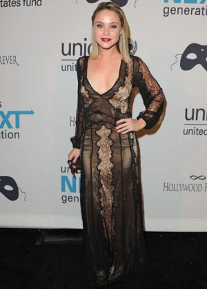 Becca Tobin - UNICEF's Next Generation's 2nd Annual Masquerade Ball in LA