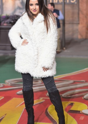 Becky G - 88th Annual Macy's Thanksgiving Day Parade Rehearsals in NYC