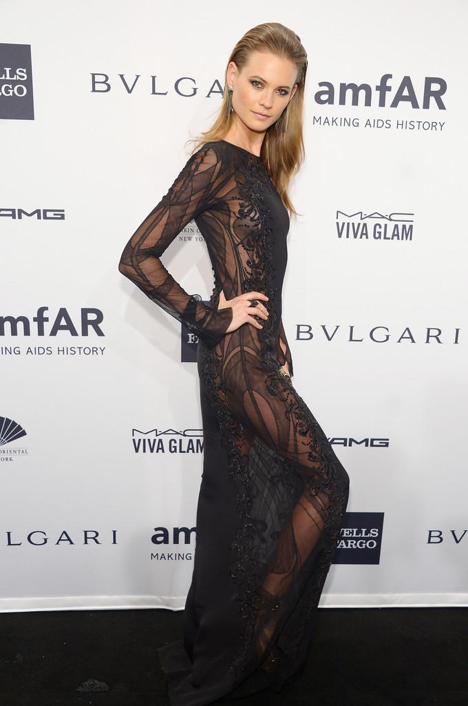Behati Prinsloo – 2014 amfAR New York Gala