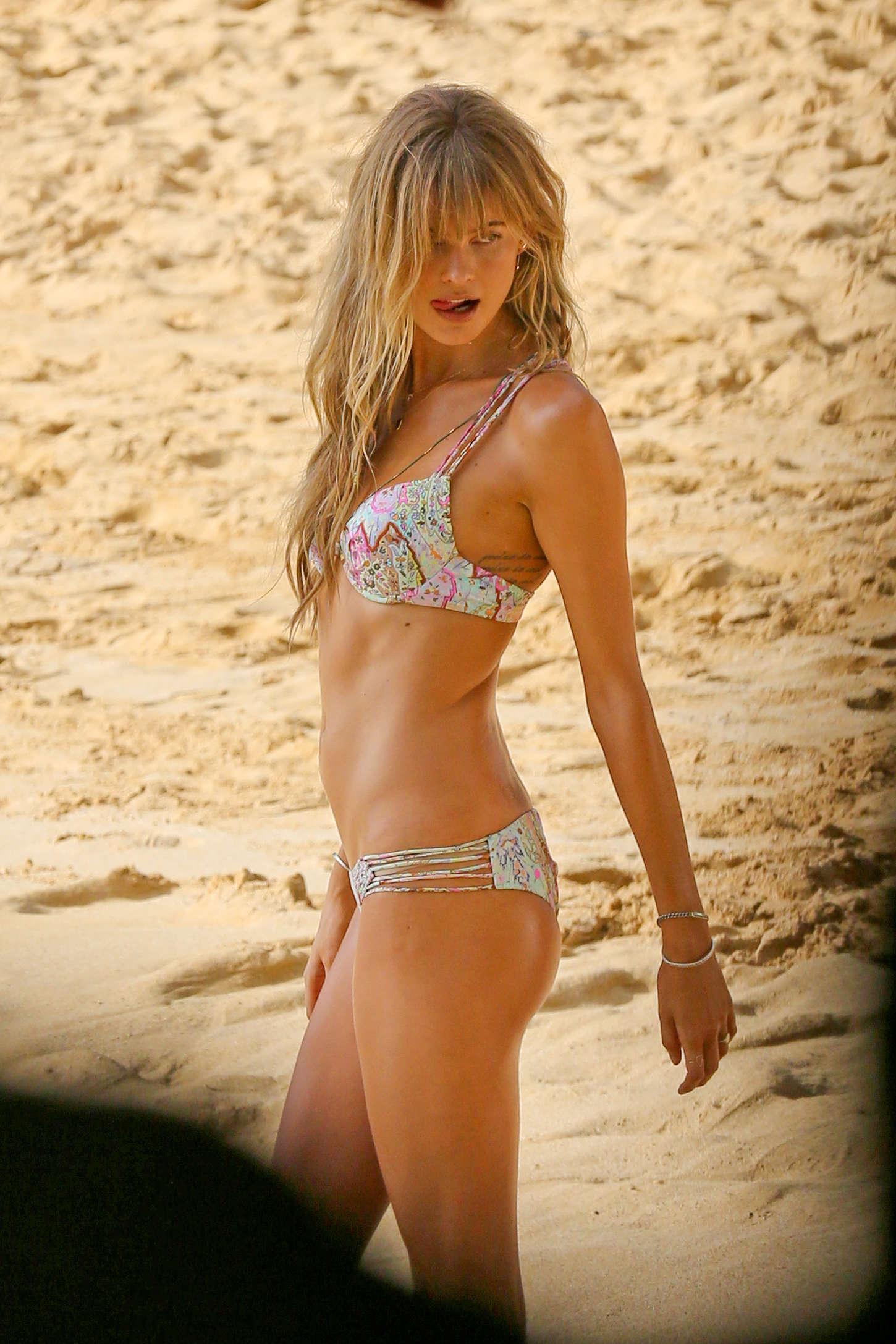 Behati Prinsloo – Bikini Photoshoot in Maui   GotCeleb