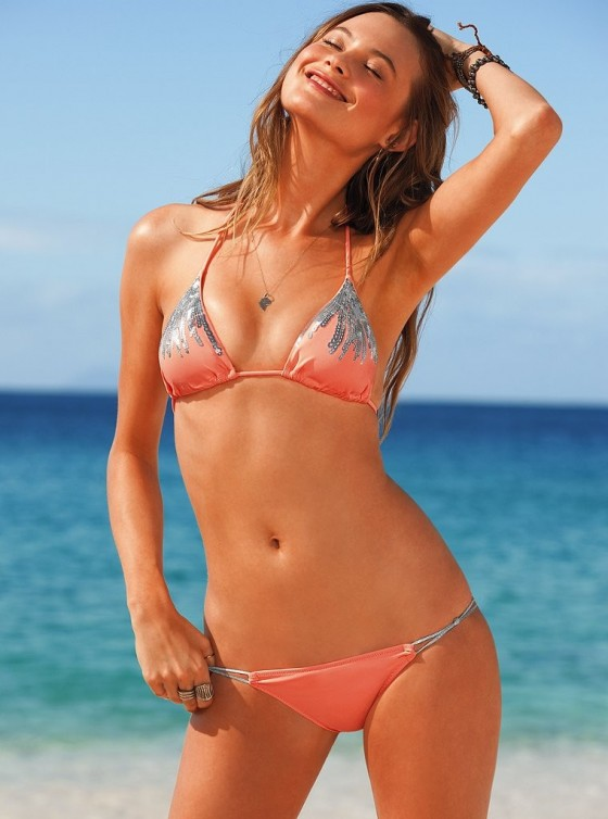Behati Prinsloo in Bikini for Victorias Secret