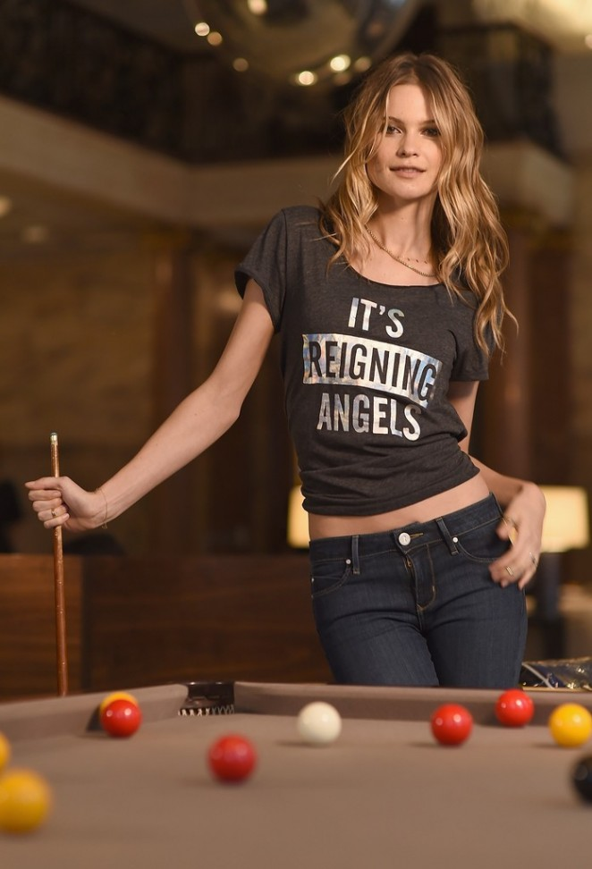 Behati Prinsloo – Victoria's Secret Angels at The London Edition Hotel