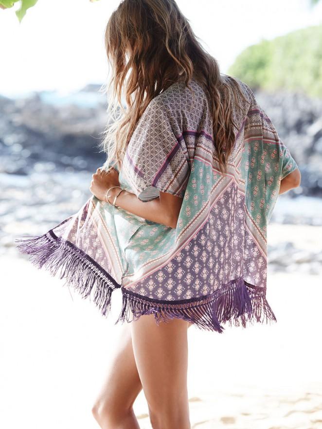 Behati Prinsloo – VS Bikini 2014 -07