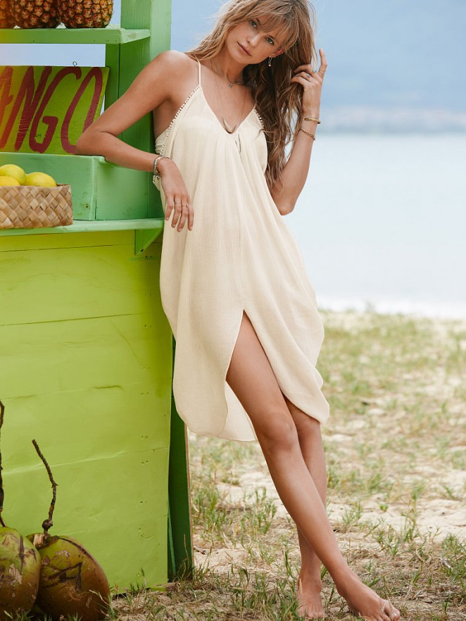 Behati Prinsloo – VS Bikini 2014 -11