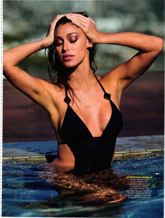 Belen Rodriguez - GQ Italy Magazine (July 2012)