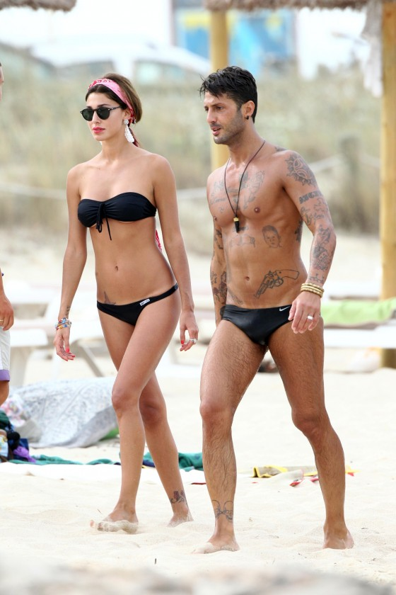 Belen Rodriguez – Hot Bikini Candids in Spain-05