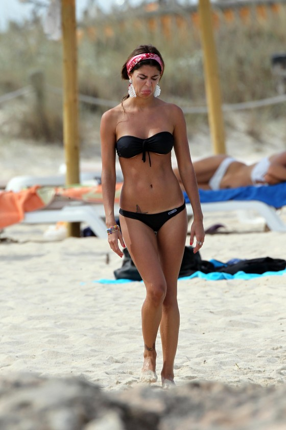 Belen Rodriguez – Hot Bikini Candids in Spain-06
