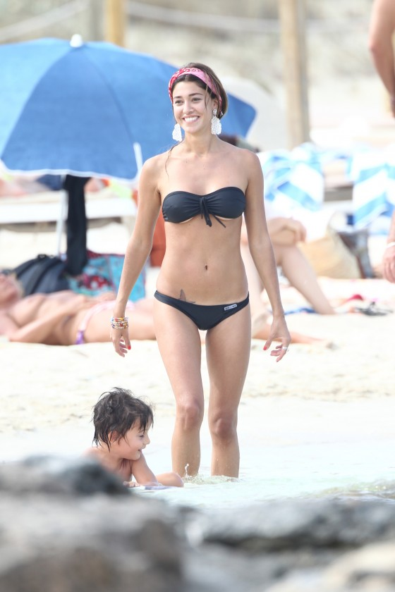 Belen Rodriguez – Hot Bikini Candids in Spain-13